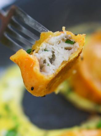 黄花鱼水饺的做法