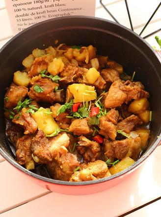 美食炖排骨一锅出的做法【土豆图】_菜谱_步骤杰v美食可以吃烟熏肉吗图片