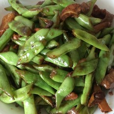 超级下饭菜猪肉炒四季豆