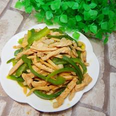 青椒杏鲍菇炒肉丝