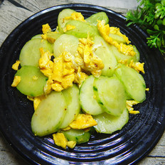 黄瓜炒鸡蛋