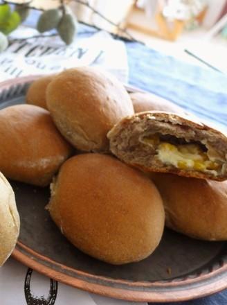 黑芝麻玉米奶酪小餐包的做法