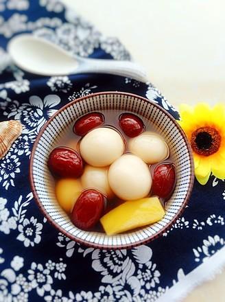 红枣姜汤圆的做法
