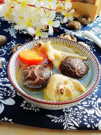 霸王超市|花菇炖鸡汤的做法