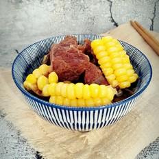 玉米炖牛肉