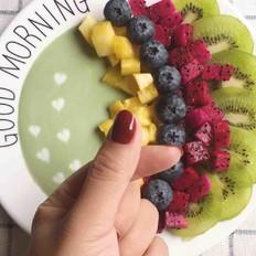 彩虹水果拼盘