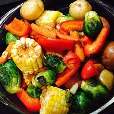 easy家常烤蔬菜