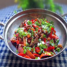 泡菜炒鸭肠