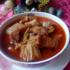 黄瓜干炖五花肉