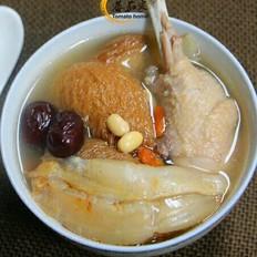 猴头菇花胶鸡汤