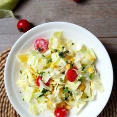卷心菜排水肿沙拉