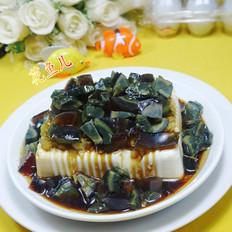 榨菜皮蛋豆腐