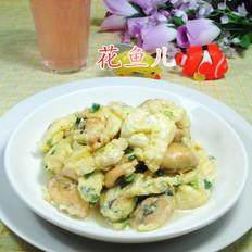 鸡蛋炒淡菜