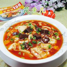 辣味鸭血豆腐羹