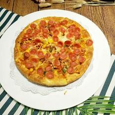 奥尔良口味厚底披萨