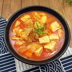 辣白菜炖豆腐
