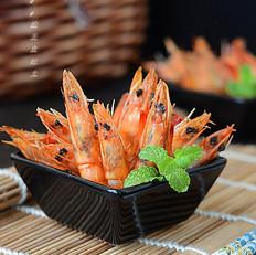 无油黑椒炸虾