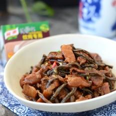 干豆角炖五花肉