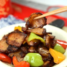 彩椒炒肉片#晚餐#