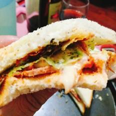 清真三明治