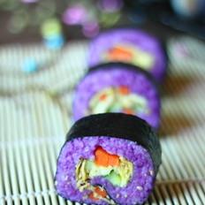 紫薯风味寿司