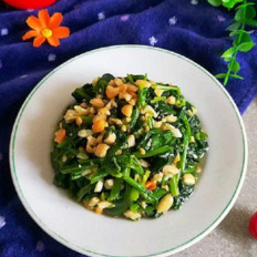 果仁菠菜#午餐#