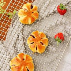 草莓酱花朵包