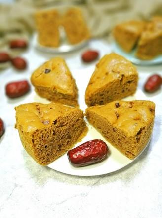 红糖红枣发糕的做法