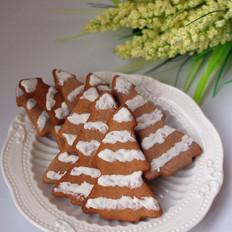姜糖圣诞树饼干