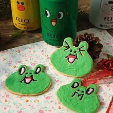 青蛙糖霜饼干