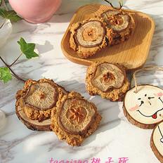 香梨燕麦饼
