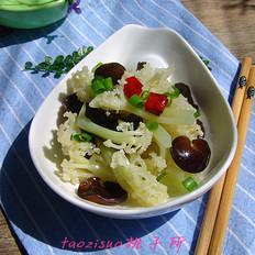 椒香木耳花菜