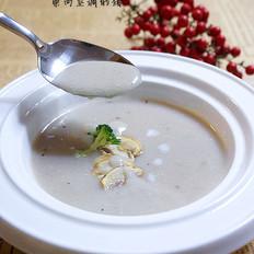 奶油菌菇汤