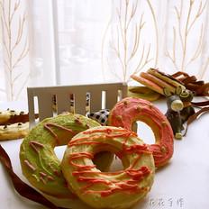饼干甜甜圈