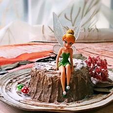 栗子泥树桩蛋糕
