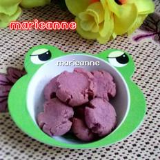 紫薯玛格丽特饼干