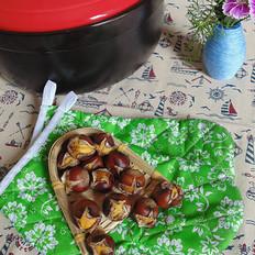 砂锅烤板栗