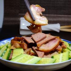 黄瓜凉拌双拼肉
