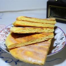 玉米豆渣发面饼