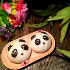 熊猫豆沙包