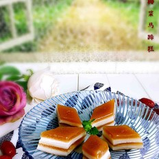 红枣椰浆马蹄糕