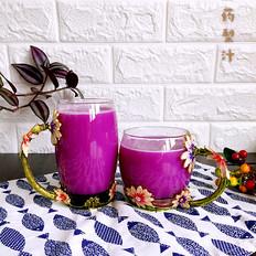 紫山药梨汁