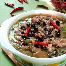 温暖又开胃的香辣酸菜肉片#午餐#