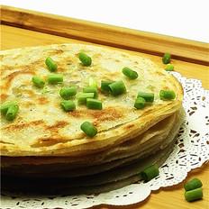 快捷美味的饺子皮葱油饼