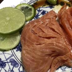 简易三文鱼餐