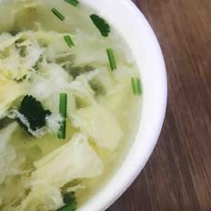 榨菜鸡蛋汤(快手版)