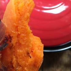 砂锅烤蜜汁红薯