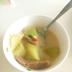 腊肉莴笋汤