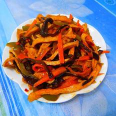 鱼香豆腐丝
