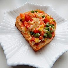 杏鲍菇吐司披萨